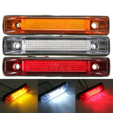 6 LED Clearance Side Marker Lampka kontrolna Lamp Truck Trailer Lorry Van 12V 24V