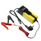 ذكي LCD 4.5-100AH الناتج 6V / 2A 12V / 4A السيارات دراجة نارية التلقائي نبض البطارية شاحن