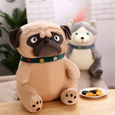 40-65CM Sand Dogs Doll Stuffed Simulation Dogs Plush Sharpei Pug Lovely Puppy Pet Toy Plush Animal Toy Children Kids Birthday Christmas Gifts