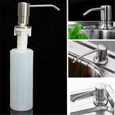 350ml Küche Waschbecken Flüssigseifenspender Nickel gebürstet Kopf