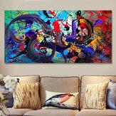 خلاصة الحديث الفن النفط لوحات طباعة صورة ديكور المنزل جدار غير المؤطرة