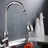 Dispositif rotatif d'aération d'économiseur d'eau de robinet de cuisine rotatif de 360 degrés Filtre anti-éclaboussures Torneira Robinet Buse Bubbler pour la cuisine à domicile