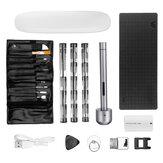 Conjunto de chaves de fenda elétricas de precisão Wowstick 1+ Kit de ferramentas de reparo DIY carregável sem fio