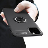 Bakeey 360º Rotating Magnetic Ring Holder Soft Silicone Shockproof Protective Case for iPhone 11 Pro Max 6.5 inch