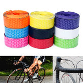 Honeycomb Design PU Handlebar Tape Drop Grip Bar Wraps Shockproof Anti-sweat 3cmX200cm For Road Bike