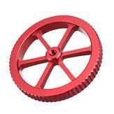 Tuerca de nivelación roja metálica de gran tamaño mejorada Creality 3D® para plataforma de impresión Cama calefactora de impresora 3D