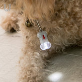 Jordan&Judy JJ-VC0011 Pet Hangtag Lamp Pet Supplies Night Light Outdoor Dog Lighting Anti-Lost Device Warning Signal Light