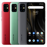 UMIDIGI Power 3 Global Bands 6,53 pouces FHD + Android 10 6150mAh NFC 48MP AI Quad Caméras 4 Go 64GB Helio P60 Smartphone 4G