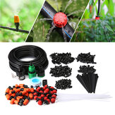 50' Plant Garden Drip Irrigation Watering System 40pcs Drippers Misting Drip Irrigation Kit
