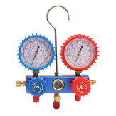 AC Refrigerant Manifold Gauge Set Air Conditioning Tools with Hose and Hook for Air Condition