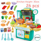 Cuisine Playset Play Kids Pretend Play Toy Toddler Kitchenware Cooking Set Toys