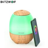 BlitzWolf® BW-FUN3 Wi-Fi Essential Olio Diffusore Ultrasuoni Aromaterapia Umidificatore Controllo APP Amazon Alexa Google Home Control con 7 Colorful Luce