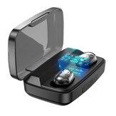 Bakeey M13C TWS Bluetooth 5.0 Kopfhörer LED Display Touch Control 1800mAh Energienbank Transparenter Kopfhörer mit Mikrofon