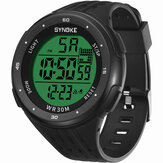SYNOKE 9007 3ATM Impermeable Luminoso Pantalla Reloj digital