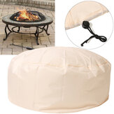 37'' Fire Pit Cover All Weather Protect Waterproof Resistant Outdoor Rain Cover