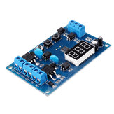 YYD-4 Double MOS Timer Relay Module 2 Channel Cycle Delay Timing Relay for Control Solenoid Valve Water Pump Switch