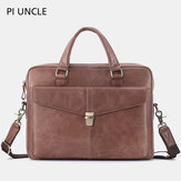 Men Genuine Leather Business Bag Handbag