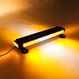 12V 144W 42 LED Strobe Flash Light Bar Emergency Light Magnetic Universal