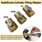 SodaStream-navuladapter + ontluchtingsklep + W21.8-14 / US CGA320-connector
