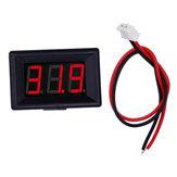 Voltage LED Display 0.36 Inch 2/3 Wires Digital Voltmeter DC 2.4V-30V Panel Volt Meter for Battery Tester RC Drone Car Motorcycle