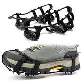 Kaymaz 24 Diş Krampon Buz Tutucu Ayakkabı Kadın Erkekler Için Buz Kar Tırmanma Yürüyüş Için Spike Sapları Cleats