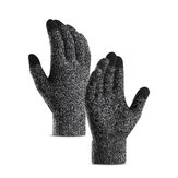 Pair Men Women Winter Touch Screen Warm Gloves Windproof Waterproof Driving Riding Thermal Full Finger