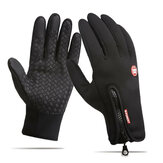 Men Women Touch Screen Skiing Gloves Winter Bike Warm Windproof Waterproof Anti-slip Thermal