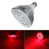 E27 54W Rot und Nahinfrarot LED Lichttherapiebirne 660nm 850nm Anti-Aging und Schmerz AC85-265V