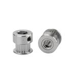10 stks Anet® 20 tanden aluminium 8 mm boring distributieriemschijf voor 6 mm breedte riemflens synchroon wiel voor 3D-printer CNC-onderdelen