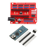 Funduino Nano Expansion Board + ATmega328P Nano V3 No Welding Geekcreit for Arduino - products that work with official Arduino boards