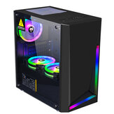 Dream Computer Gaming Chassis RGB Computer Case Micro ATX ATX Mini-ITX الكمبيوتر Case Desktop Chassis USB 3.0