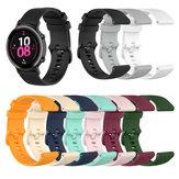 Bakeey 20MM Silicona Reloj a cuadros Banda Para Huawei RELOJ GT 2 42MM / Honor RELOJ 2 42MM