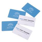 M5Stack® 5Pcs 13.56MHz RFID Carrello smart card senza contatto per lettore di gettoni RFID della metropolitana di trasporto / città