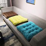 Cuscino per sedile in feltro Tatami in feltro di 8 colori Cuscino per sedile ispessito in peluche per balcone della finestra dell'ufficio domestico Yoga