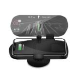 Автомобиль HUD Head Up Дисплей Быстрое беспроводное зарядное устройство GPS навигация Дисплей Держатель зарядки