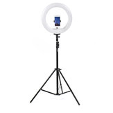 50cm Foldable Portable Video Ring Light Flash Holder Stand Tripod for Youtube Tik Tok Live Streaming