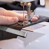 20pcs de aço inoxidável costura hemming clips régua de medição estofando suprimentos ferramentas de costura