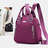 Women Large Capacity Multifunctional Shoulder Bag Backpack