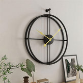 Art Hanging Clock Vintage Creative Round Metal Iron  Home Office Wall Xmas Decoration