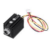 405nm 100/180 / 300mW Ponto violeta azul Laser Módulo Foco variável TTL / PWM Modulação com dissipador de calor 2.54-3P para gravador DIY Laser