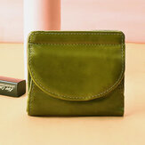Women Genuine Leather Vintage Coin Bag Card Holder