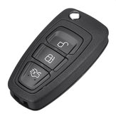 Car 3 Buttons Remote Folding Flip Key Fob For Ford Transit 2006-2018