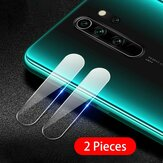 Bakeey 2PCS Anti-scratch HD Clear Tempered Glass Phone Camera Lens Protector for Xiaomi Redmi Note 8 Pro