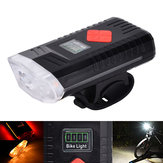 XANES® XL43 650LM T6 Power Display Intelligent Bike Front Light 6 Modes USB Rechargeable IPX3 Waterproof Bicycle Lamp