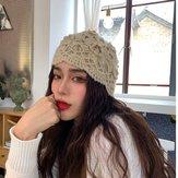 Women Hand-crocheted Beanie Hat