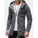 Men's Breathable Stitching Cardigan