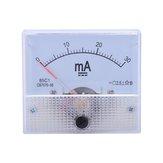 85C1 DC mA Ampermetre 0-10MA 30MA 50MA 100MA Analog Akım Panel Metre Ampermetre