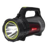 2000M8000LMUSBrecarregávelPoratblelanterna ao ar livre LED pesquisa luz