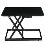 Modern Simple Adjustable Height Laptop Desk Sit Stand Dual-use Table Folding Office Desk Riser Notebook Stand Monitor Holder