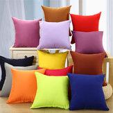 Hot Solid Hot Pillowcase Simple Plain Decorative Cushion